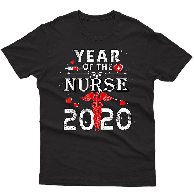2020 Year Of The Nurse Midwife Nursing School Rn Lpn Gift T-shirt