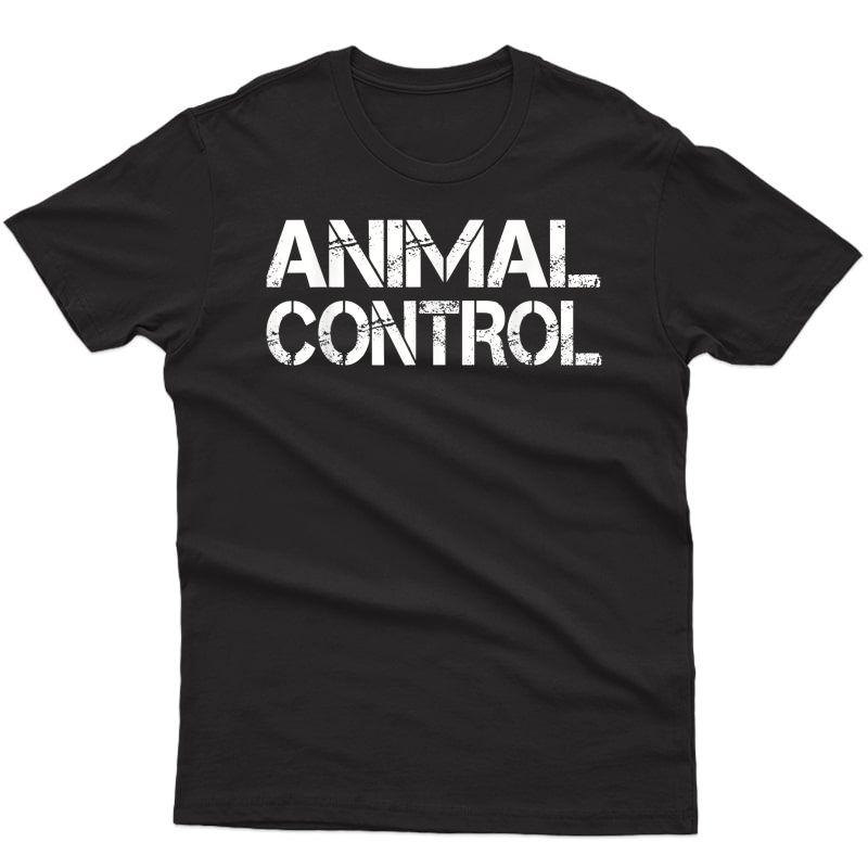 Animal Control Officer Halloween Costume T-shirt