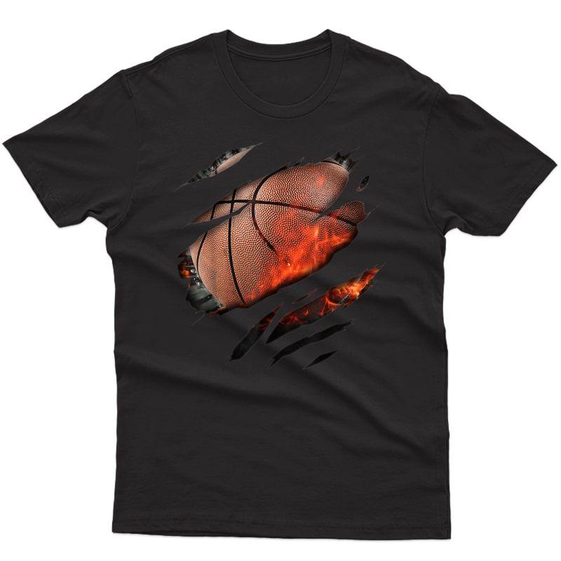 Basketball In Me Design, Basketballdesign T-shirt