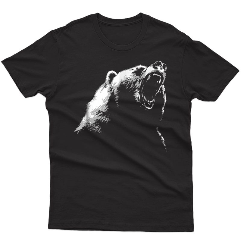Bear T-shirt Hike Camp Gift