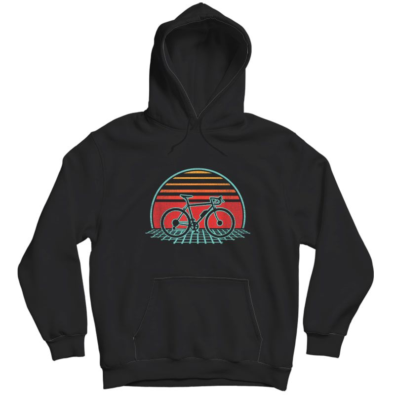 Bicycle Retro Vintage Cycling 70s 80s Style Gift T-shirt Unisex Pullover Hoodie