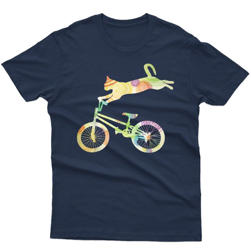 Cat Bike Cycling Bicycle T-shirt - Your Gift Collection