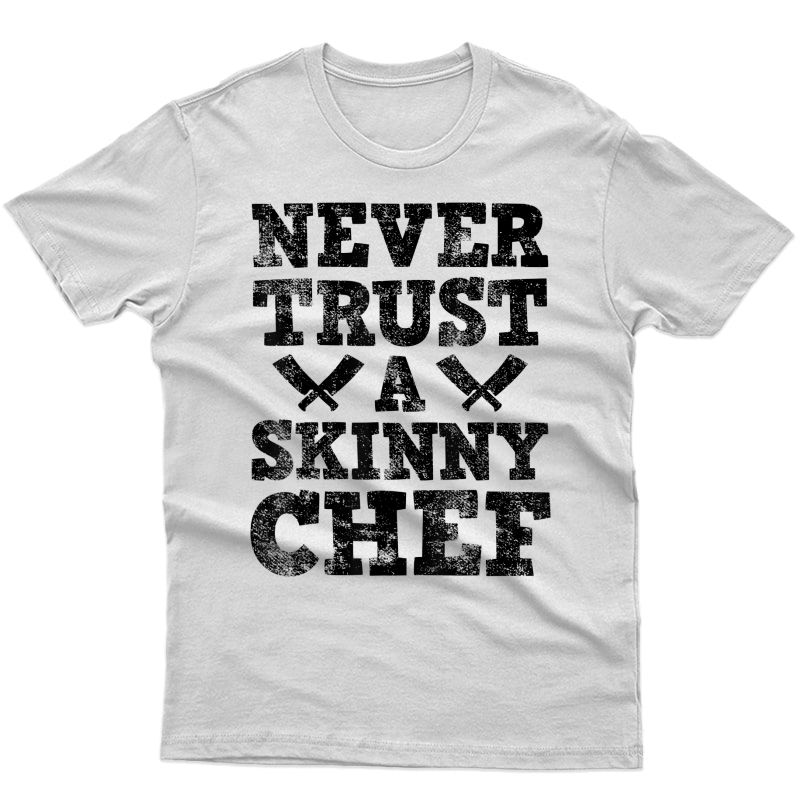 Chef Culinary Cooking Knife T-shirt
