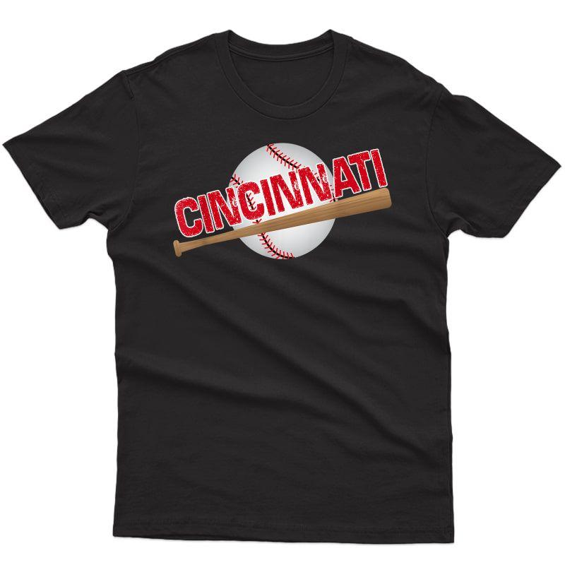 Cincinnati Baseball Fans Love Their Spring Summer Ball T-shirt