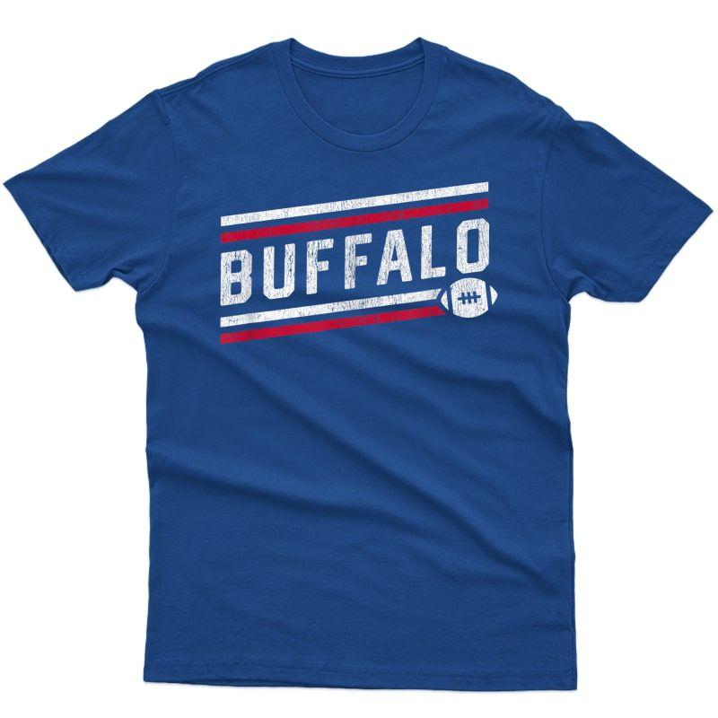 Cool Buffalo Football Touchdown T-shirt