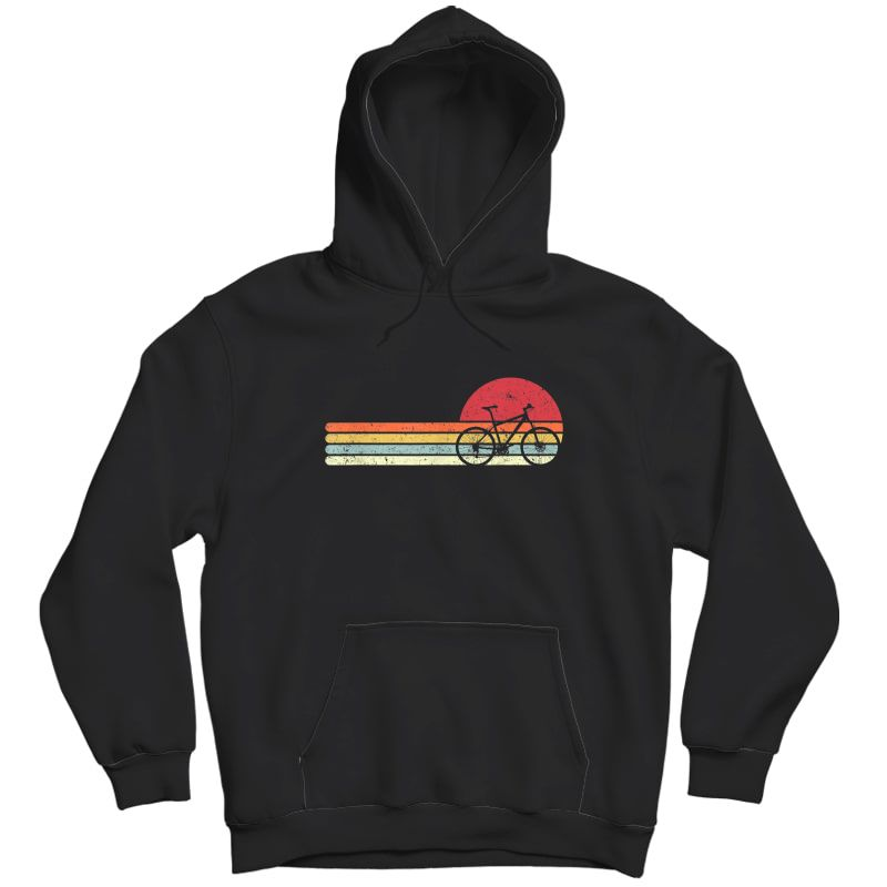 Cycling Shirt. Retro Style T-shirt For Cyclist Unisex Pullover Hoodie