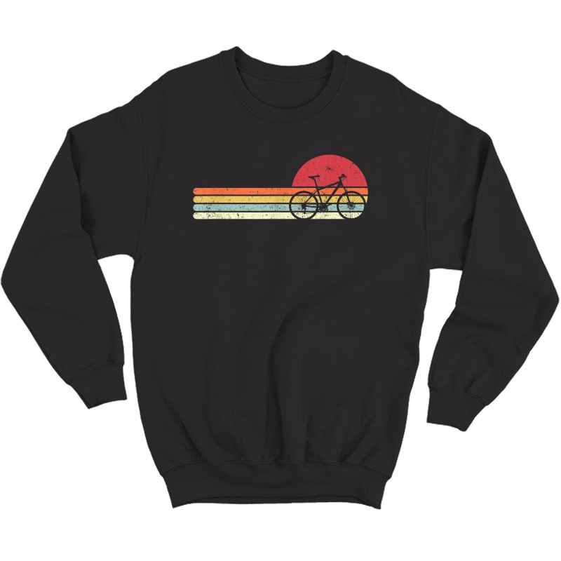 Cycling Shirt. Retro Style T-shirt For Cyclist Crewneck Sweater