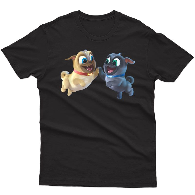 Disney Puppy Dog Pals Rolly Bingo High Five T-shirt
