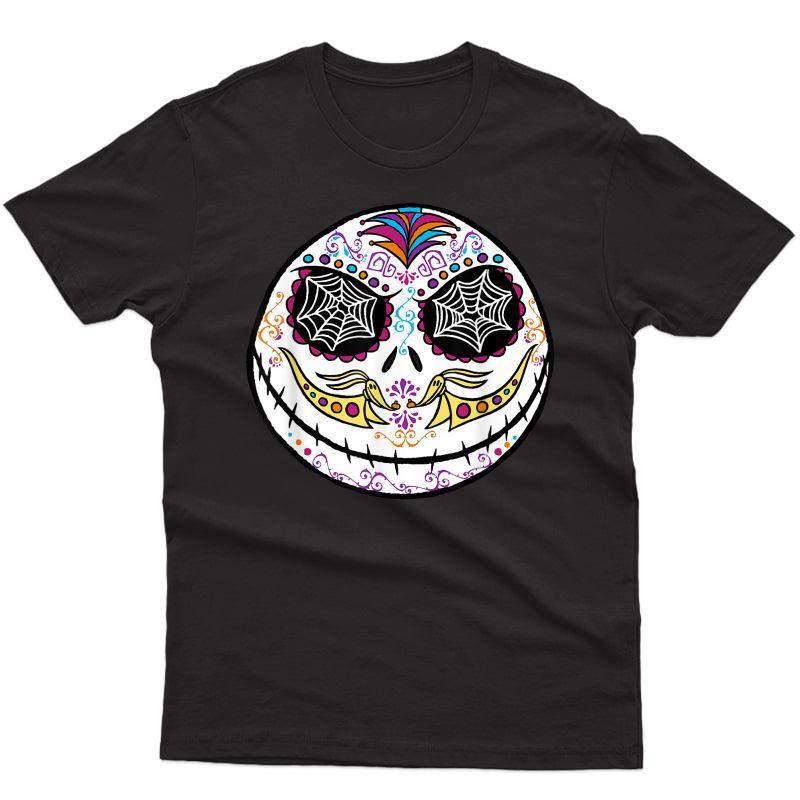 Disney The Nightmare Before Christmas Jack Sugar Skull T-shirt