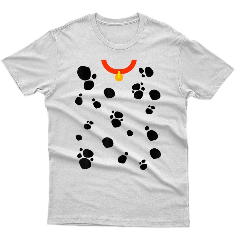 Dog Dalmation Costume - Halloween T-shirt