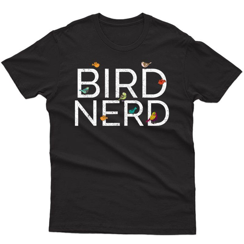 Epicwear Bird Nerd Bird Wat Watching Tshirt
