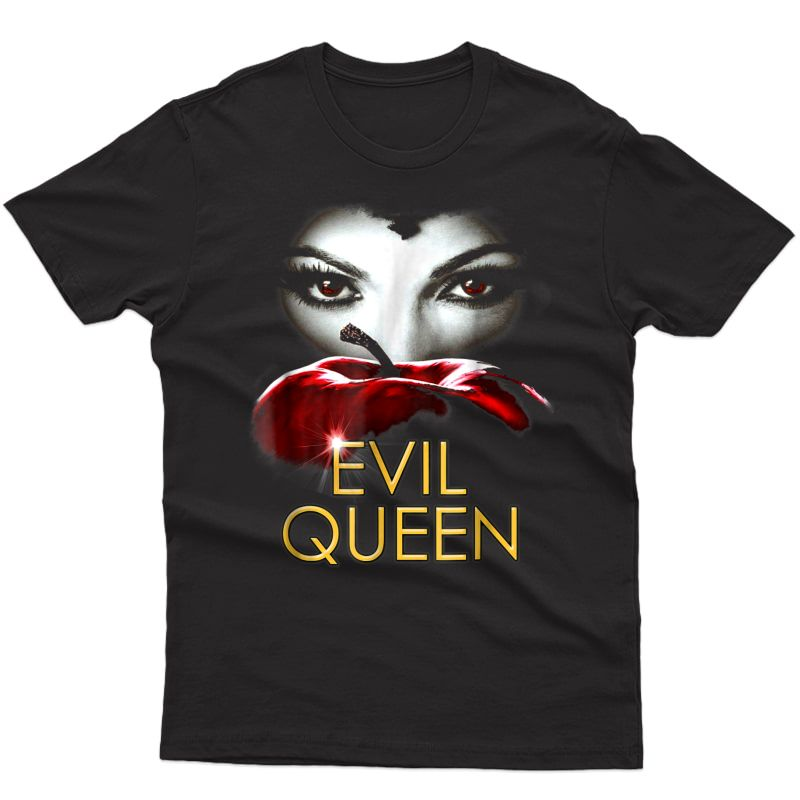 Evil Queen Apple T-shirt - Funny Halloween Costume Shirt