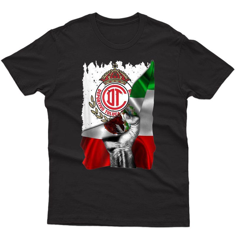 Fc Toluca Football Club Orgullo Mexicano T-shirt