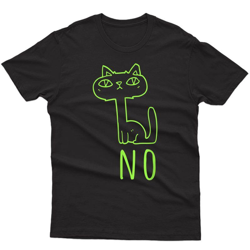 Funny Cat Retro Vintage Design Match Jordan 6 Electric Green T-shirt