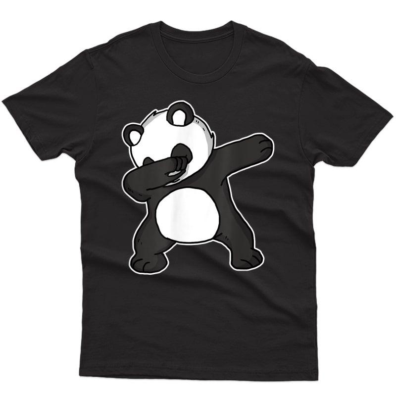 Funny Dabbing Panda Dab Dance Cool Panda Lover Gift T-shirt