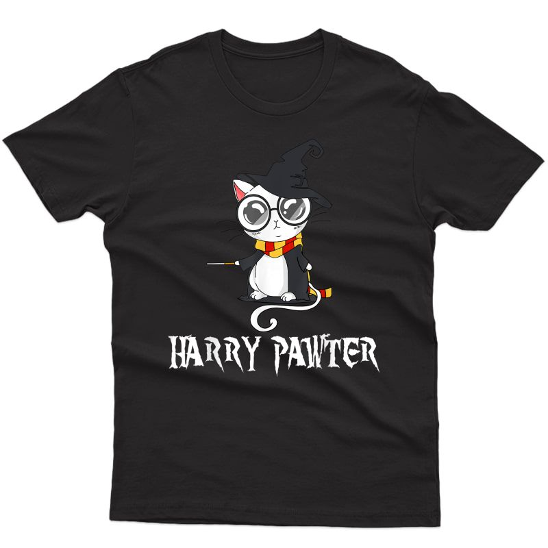 Funny Harry Pawter Hairy Cat- Lovers T-shirt