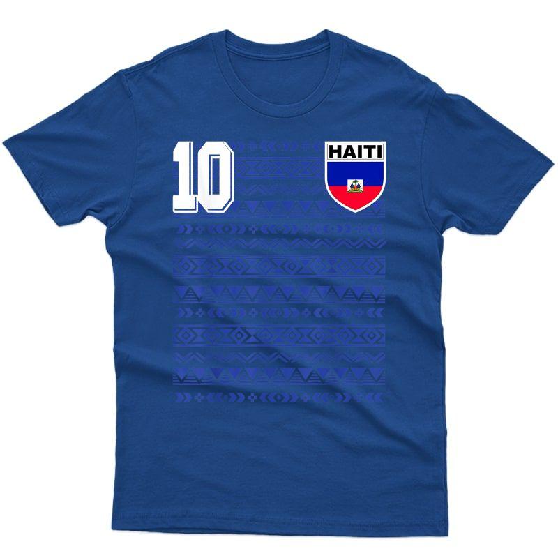 Haiti Futbolll Soccer T-shirt