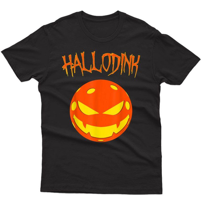 Halloween Pickleball Shirt Funny T-shirt