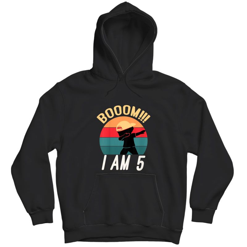 Dabbing Birthday Shirt 5 Years Old Birthday Out T-shirt Unisex Pullover Hoodie