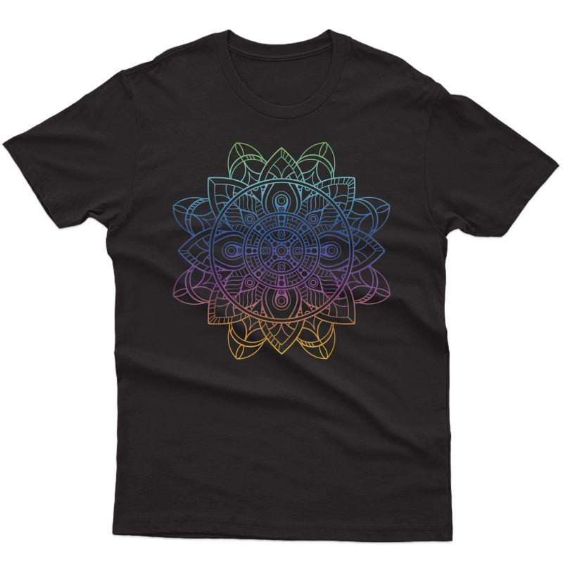 Mandala, Tee, Minimalist Shirt, Yoga Tshirt, Amaste, Prana T-shirt