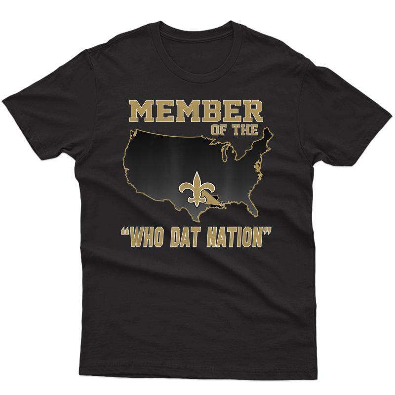 New Orleans Football Shirt T-shirt