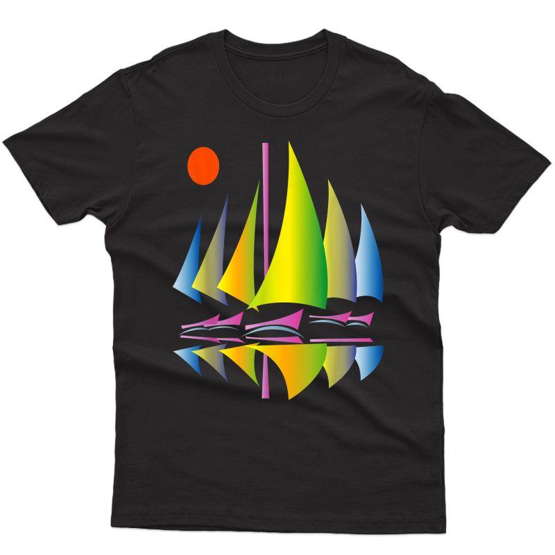 Sail Sailing Boat Sailors T-shirt