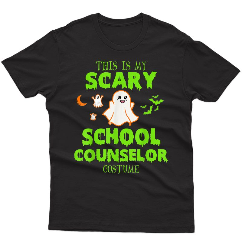 Scary School Counselor Costume Halloween T-shirt