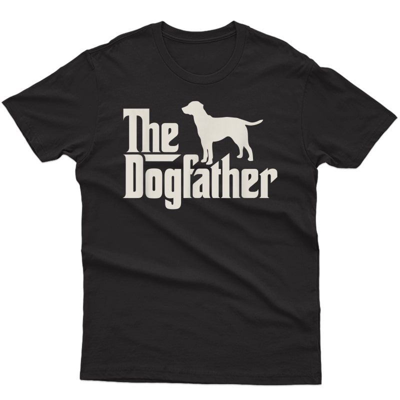 The Dogfather Labrador Funny Dog Owner Shirt T-shirt