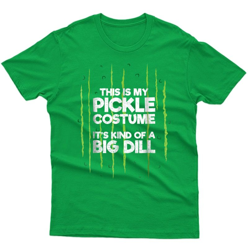 This Is My Pickle Costume Shirt Halloween Food Lazy Costume
