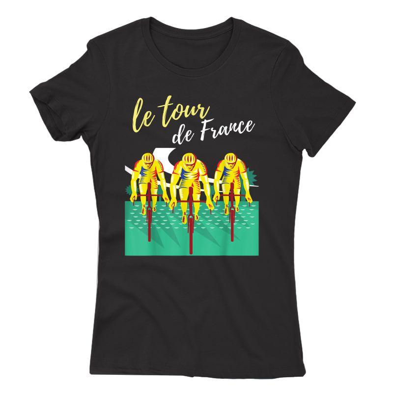 Tour France S T-shirts Cycling Tee Bike T-shirt